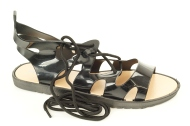 MSMG. Sandales melnā krāsa. Zema pildīta