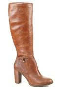 MONNA LISA. Zābaki (krāsa: brūns), pavasaris, rudens. Virspuses materiāls: gluda āda. Iekšējā odere: baika. Zole: sintētiskais materiāls. Sieviešu apavi Gabi.lv apavi/kurpes обувь/туфли